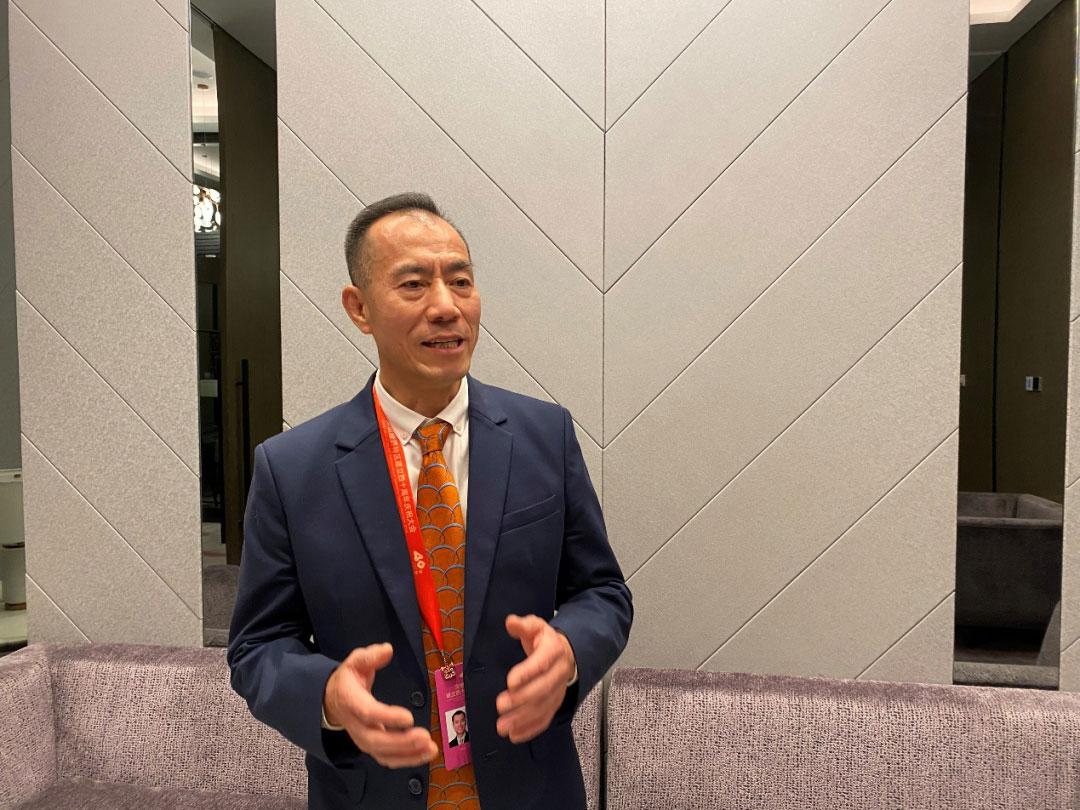 Mr.li Jianquan Is Interviewed