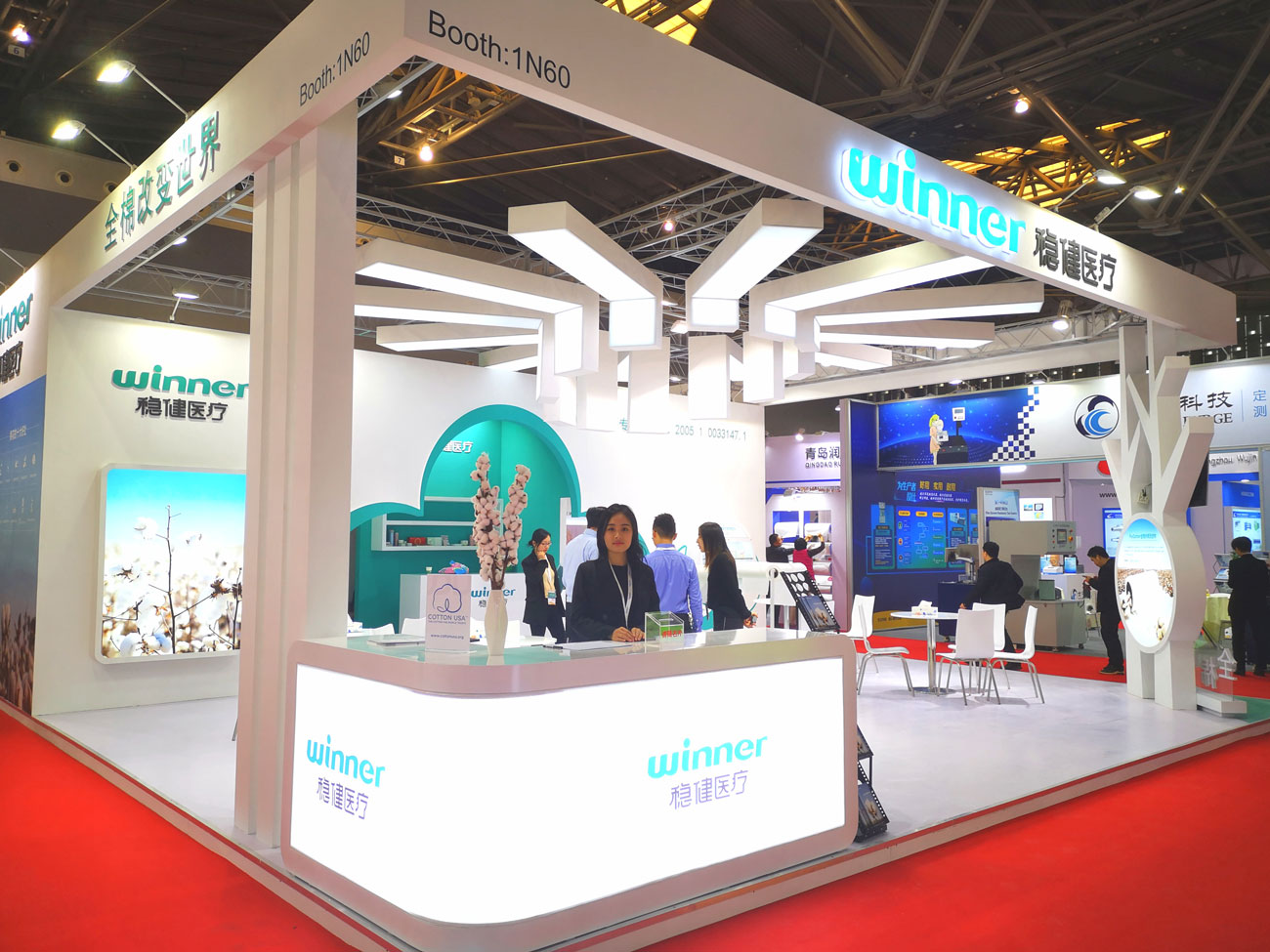 Straight Hit Since Exhibition • Winner's 100% Cotton Spunlace Nonwoven Fabric Products Are Highly Acclaimed
