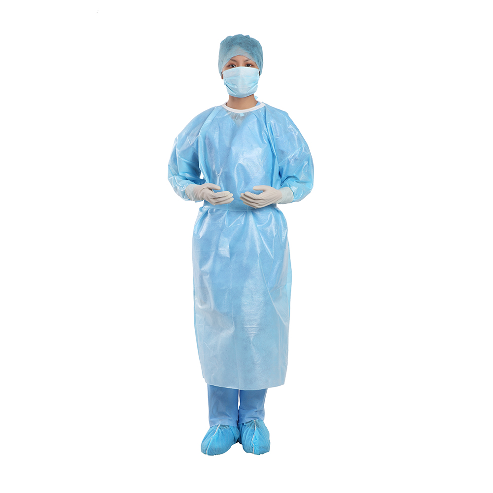 Coated SPP Isolation Gown