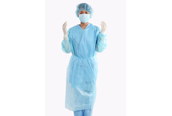 Spunpond Polypropylene Isolation Gown