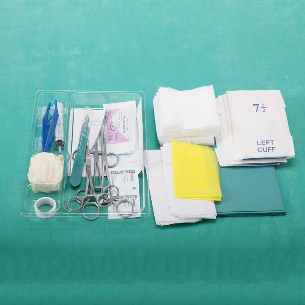 Dressing Packs With Instruments