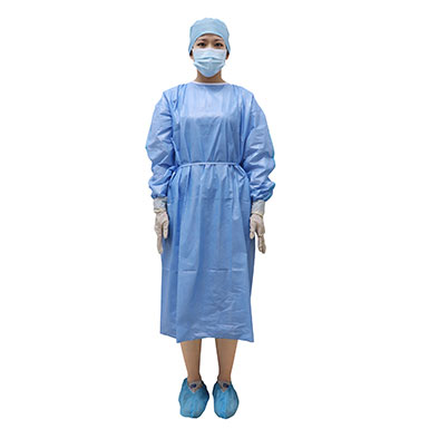Purcotton Isolation Gown